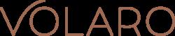 Volaro logo + tagline copper FA